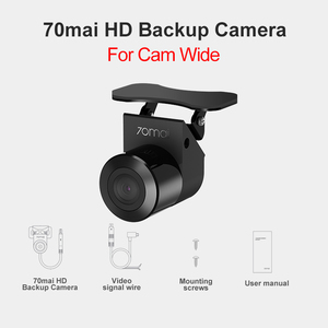 Image 2 - 70mai HD מצלמת & ראיית לילה מצלמת עבור 70mai רכב Dvr רחב Rearview זרם מדיה דאש מצלמת רק עבור D07 אחורי מצלמת