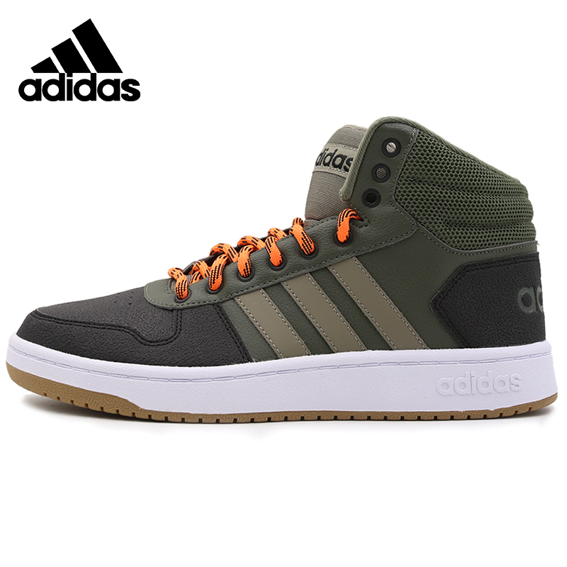 <font><b>Original</b></font> <font><b>Adidas</b></font> HOOPS 2.0 MID Mens Skateboarding <font><b>Shoes</b></font> Sneakers Outdoors Sports image