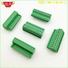 Bloques de terminales enchufables KF2EDGK 2,54 2P ~ 12P PCB 15EDGK, 2,54mm, 2 pines ~ 12 pines MC 0,5/ 2-ST-2,54 PHOENIX DEGSON KEFA