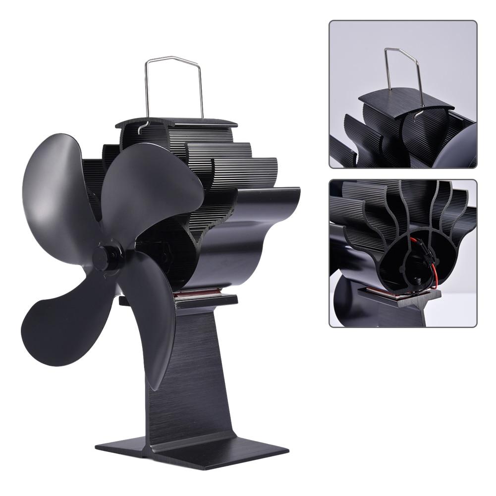 Камин Вентилятор Эко Дружественный Термоэлектрический Мощность Вентилятор Тихий Дом Камин Вентилятор Эффективный Тепло Распределение