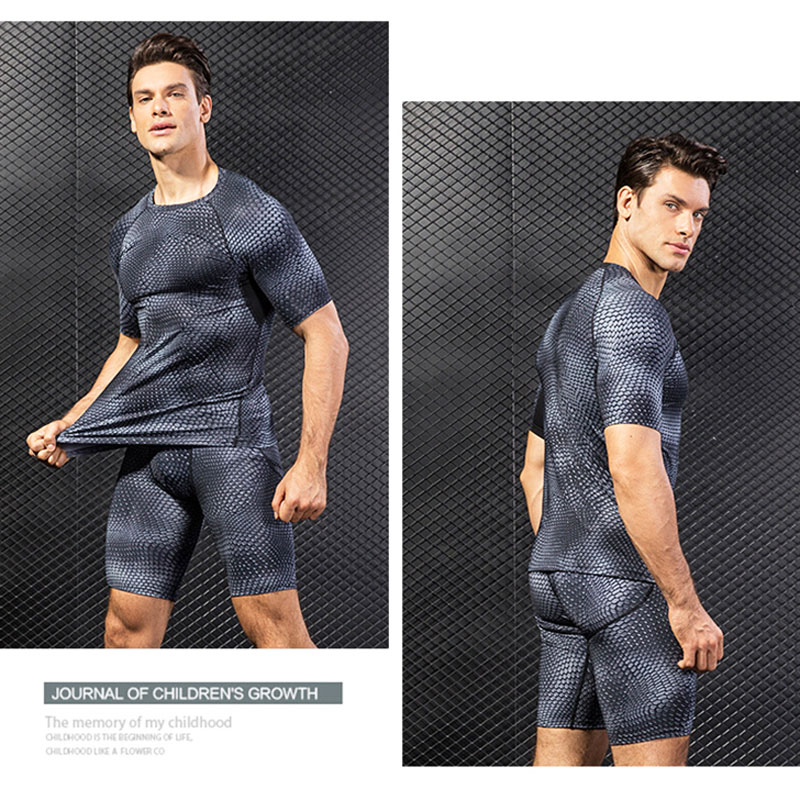 Hot DealsClothing Gym-Shirt Rashguard Sweat Compression Fitness Male Quick-Dry Breathable Men