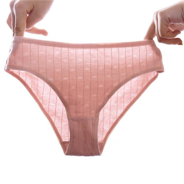 3pcs/lot cotton panties women stri