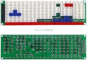 Image 4 - Development Keyboard Encoder Board Game Controller DIY LED Keyboard Development Board Media Music USB Encoder 104 Keys Arcade DI