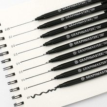 Pen Art-Supplies-Set Hook-Line Drawing-Needle Comic Pen-Design Office Hand-Painted School