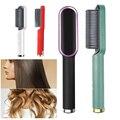 Многофункциональный выпрямитель для волос, бигуди с плоским утюгом, турмалин, Керамический выпрямитель для волос, щипцы для завивки, гофрир...