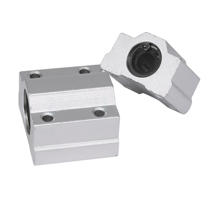 1pc SCS25UU SCS25LUUmm Linear Ball Bearing Block CNC Router SCS6UU SCS60UU SCS12UU SCS13UU for CNC 3D printer shafts Rod parts