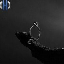 925 Sterling Silver Skull Ring Mini Skull Ring Personality Ring цена и фото