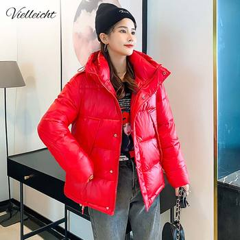 Vielleicht 2020 New Hooded Winter Jacket Women High Quality Casual Fashion Parka Coat Jackets Warm Clothing