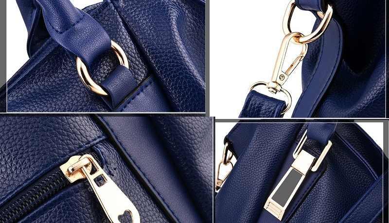 Echtes Leder Taschen Handtaschen Frauen Taschen Für Frauen 2020 frauen Damen Schulter Kette Taschen Casual Weibliche Messenger Taschen N253