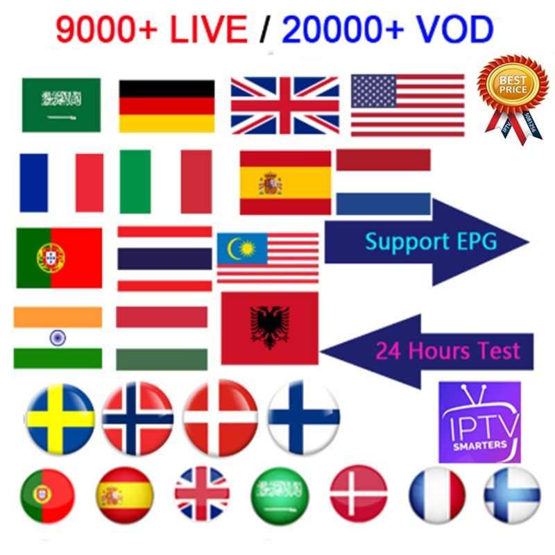 Tốt nhất Ổn Định IPTV m3u thuê bao IPTV Ý Đức Pháp Tây Ban Nha Ba Lan thuê bao Android Box m3u Enigma2 TIVI Thông Minh MÁY TÍNH