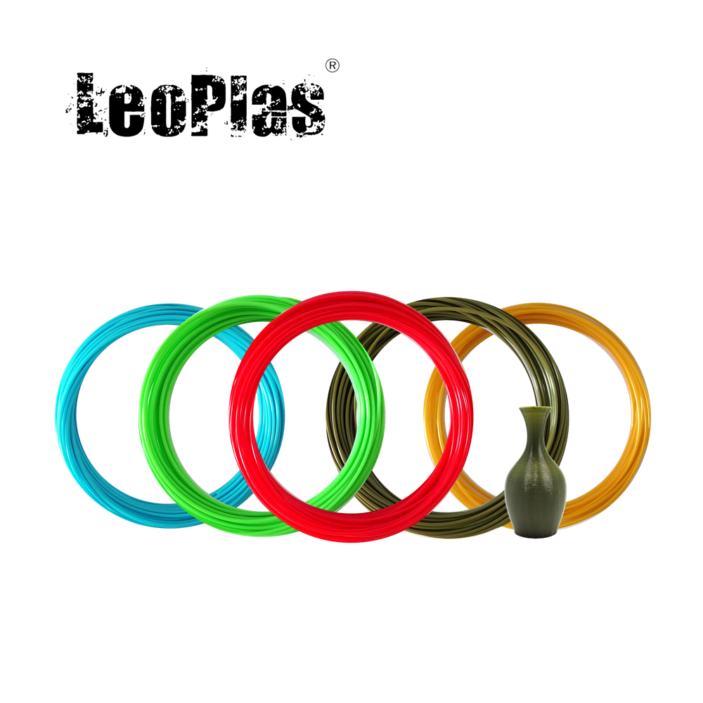 LeoPlas 1 75mm 10 and 20 Meters 50g Flexible Soft TPU Filament Sample For 3D Printer Consumables Printing Supply Rubber Material