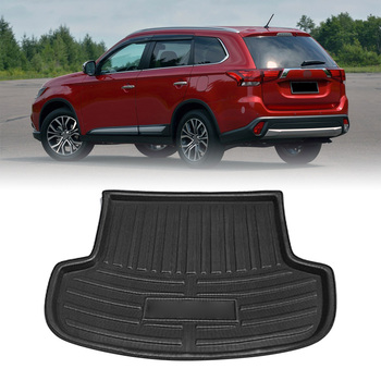 For Mitsubishi Outlander 2013 2014 2015 2016 2017 2018 2019 2020 Car Boot Cargo Liner Trunk Tray Floor Mat Carpet image