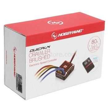 Щеточка на гусеничном ходу Hobbywing quirun ESC 1:10 1/8 1080 щеточка с щеточкой для щеток WP 80A электронный регулятор скорости