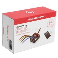 Hobbywing-cepillo de orugas QuicRun ESC 1:10 1/8 1080, controlador electrónico de velocidad WP 80A
