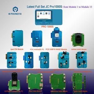 Image 2 - JC Pro1000S NAND مبرمج PCIE NAND اختبار جهاز HDD SN قراءة أداة بطارية خط البيانات سماعة اختبار آيفون باد خطأ إصلاح