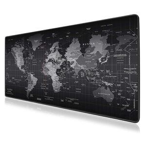 Image 1 - Large Gaming Mouse Pad Gamer World Map Mousepad Anti slip Mause Pad Office Desk Mat Big Computer Mouse Mat Game Keyboard Pad