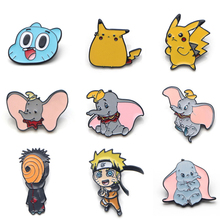 V133 the Film Dumbo and Pikachu Cute Metal Enamel Pins and Brooches Fashion Lapel Pin Backpack Bags Badge Collection Gifts v134 home alone metal enamel pins and brooches fashion lapel pin backpack bags badge collection gifts