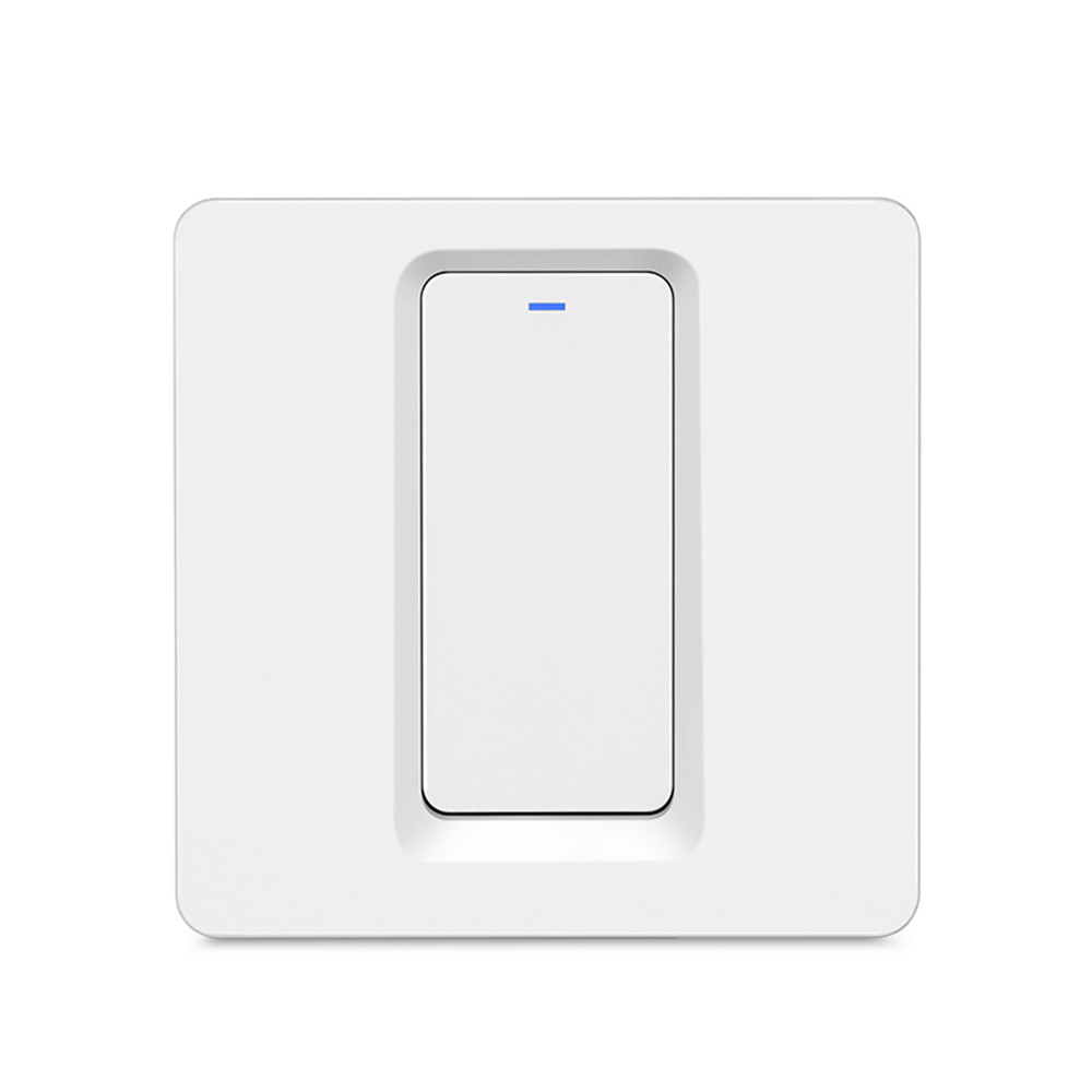 Tuya Smart ZigBee 1 Gang Switch Without Neutral Wire Touch Light Switch  Support Google Home Amazon Alexa Echo IFTTT