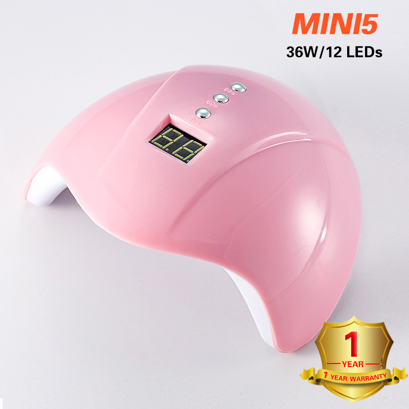 УФ лампа для ногтей светодиодный 36 Вт 12 Светодиодная лампа для сушки геля Сушилка для ногтей светильник для полировки всех гелей уф USB умная ...