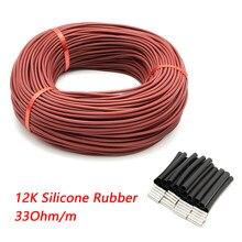 Minco Heat — Câbles chauffants, en fibre de carbone, câble chauffant au sol, de 10 à 100 mètres, 12K, 33Ohm/m