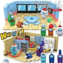 Yeni 521 adet arasında modeli kitleri yapı taşları setleri Mini rakamlar oyuncaklar tuğla Juguetes çocuklar için DIY yılbaşı çocuklar hediyeler