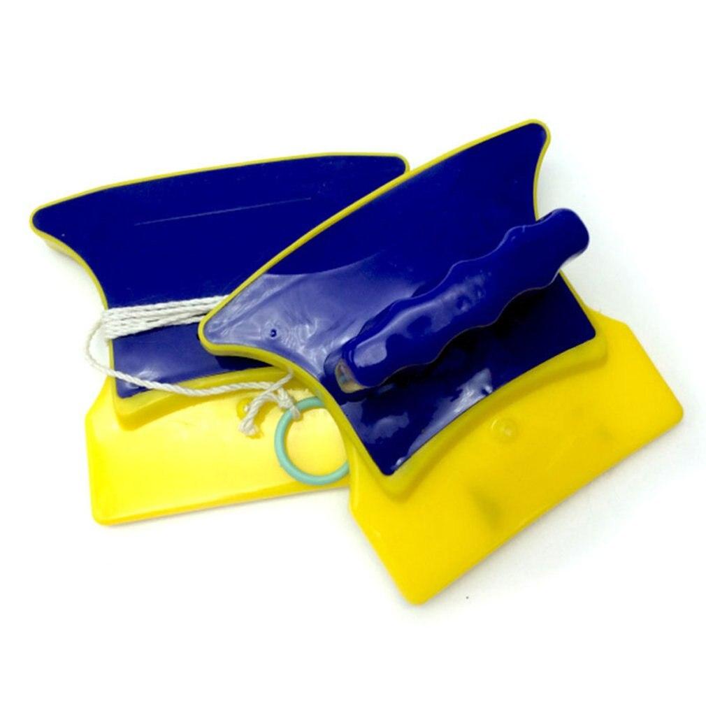 Новая Магнитная щетка для мытья окон, Магнитная щетка для мытья стекол, бытовые чистящие средства Магнитные стеклоочистители      АлиЭкспресс