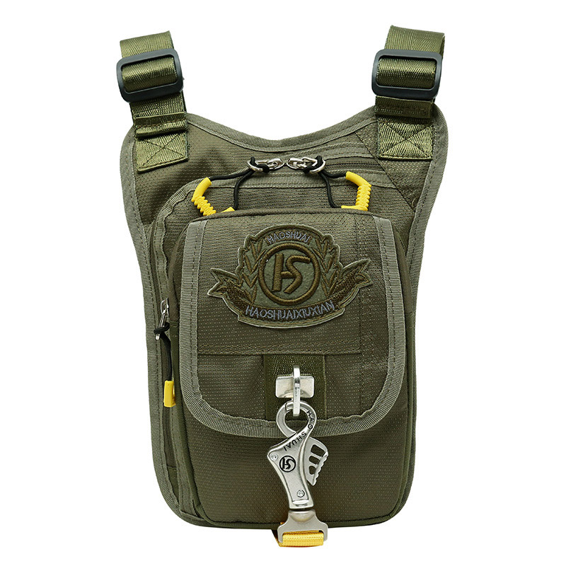 Men's Waterproof Nylon Legsbag Drop Fanny Waist Pack Thigh Belt Hip Bum Bag Military Travel Cross Body Messenger Shoulder Bags