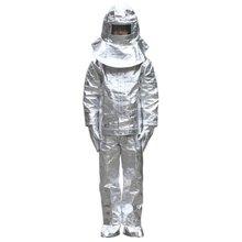 1000C Алюминий Фольга огонь охраняемых одежда Термальность изоляционная одежда огнестойкая, из алюминия Фольга тепло Теплая одежда полный набор