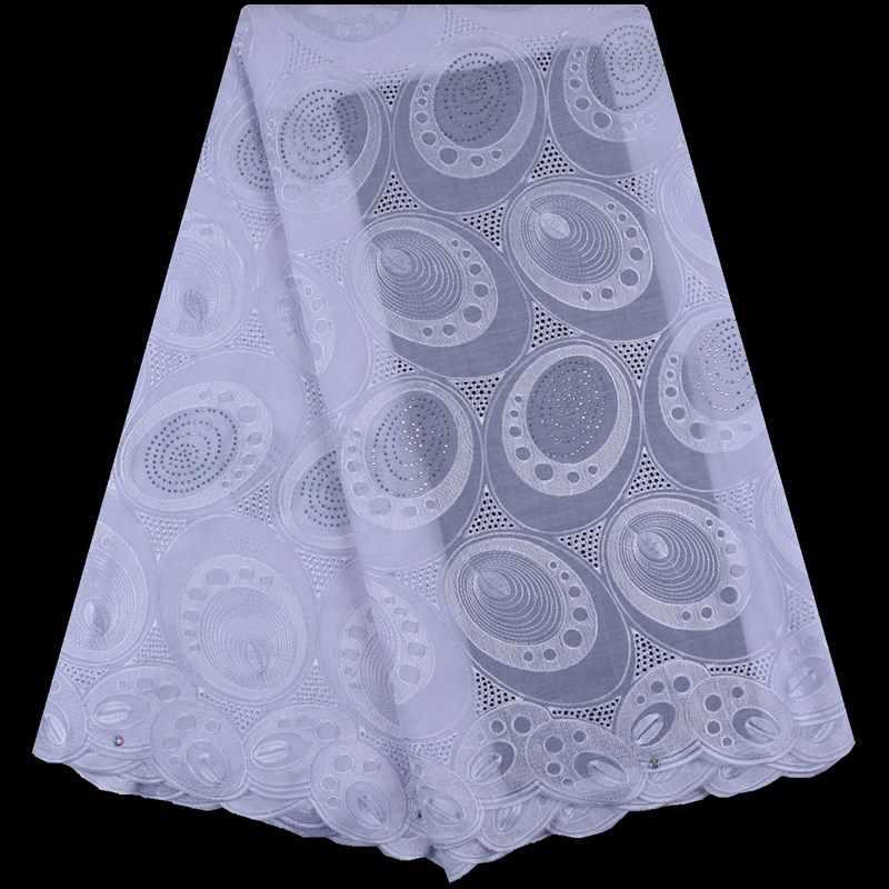 Удобная африканская швейцарская вуаль кружева в швейцарской свадебной ткани с дырками, нигерийское швейцарское хлопчатобумажное кружево для платья F1730