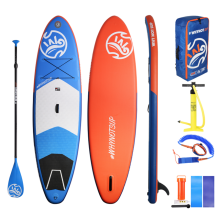 Inflatable Stand Up Paddle Board(10'2'' x 33'' x 6'') All Skill Levels Everything with Paddle,Backpack,leash,Pump,Repairing,Fin