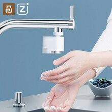 Xiaomi Zanjia Water Saverอัจฉริยะอินฟราเรดเหนี่ยวนำก๊อกน้ำAnti Overflowหมุนประหยัดน้ำหัวฉีดTap