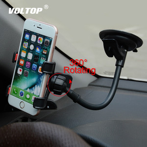 Image 1 - Supporto da Auto universale Supporto Del Telefono Cellulare per Auto Iphone 7 6s Plus SE Del Basamento di Supporto per Samsung Cellulare Flessibile supporto del telefono