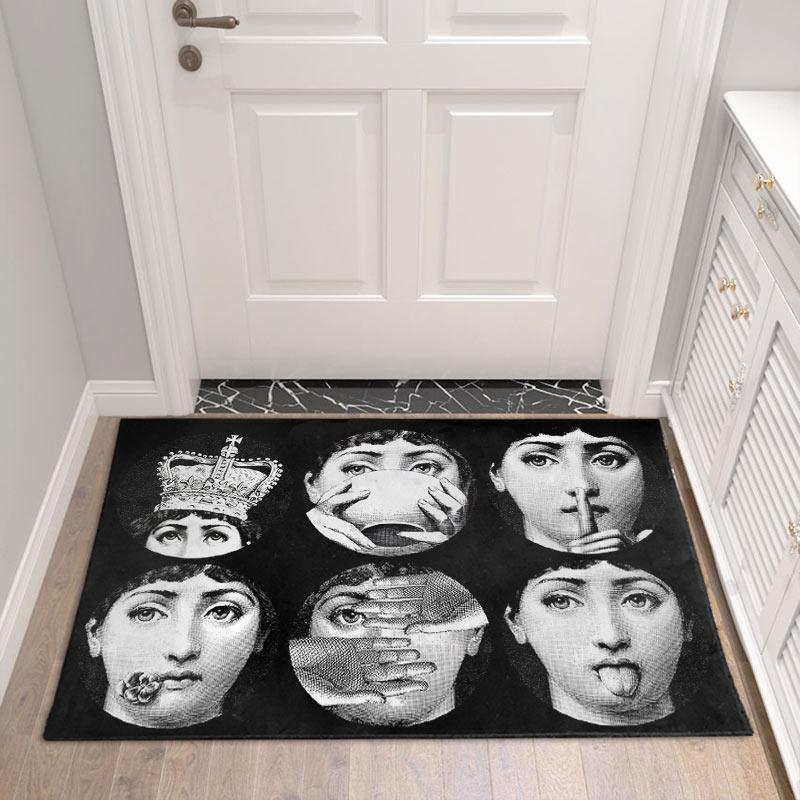 Lina Гостиная коридор доступа Ванная комната Nordic домашние Спальня Гостиная прикроватный коврик Кухня татами