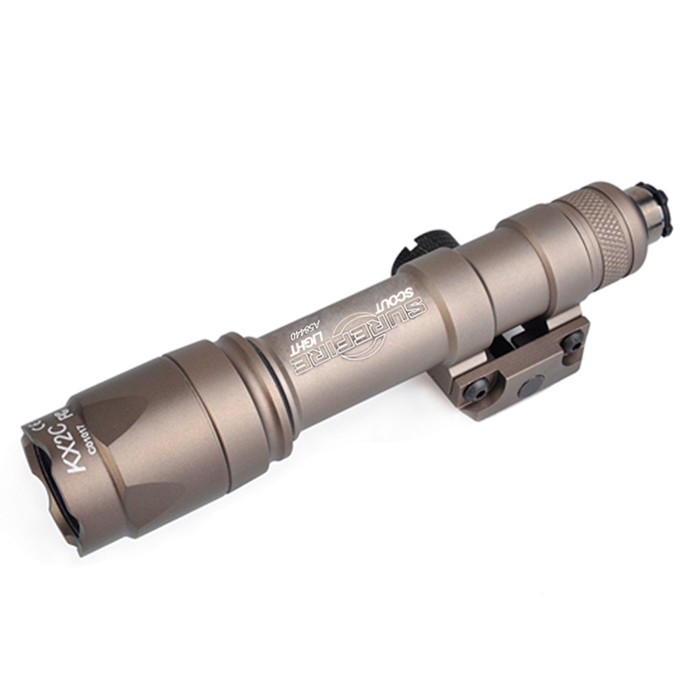 Image 5 - Wadsn Airsoft M600 Tactical Flashlight LED 340 Lumens Remote Pressure Switch M600C Rifle Flashlight  Weapon Light WEX072-in Weapon Lights from Sports & Entertainment