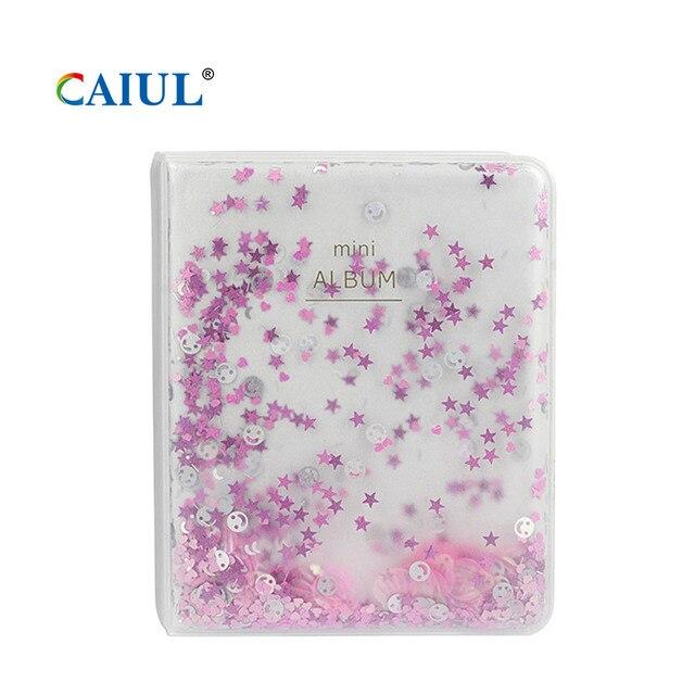 альбом caiul с сыпучим песком для fujifilm instax mini11/9/8 фотография