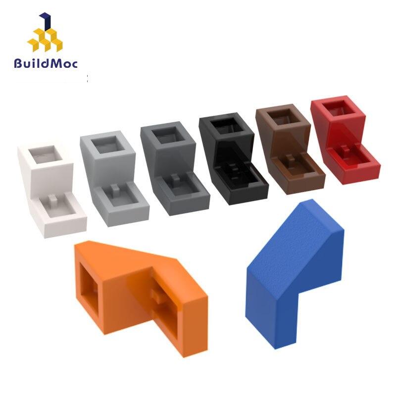 BuildMOC Compatible Assembles Particles 28192 Slope 45 2 X 1 For Building Blocks Parts DIY LOGO Educational Tech Parts Toys