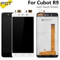 5 0 zoll Für Cubot R9 LCD Display + Touch Screen Digitizer Montage Für R9 LCD Glas Panel Ersatzteile + werkzeuge