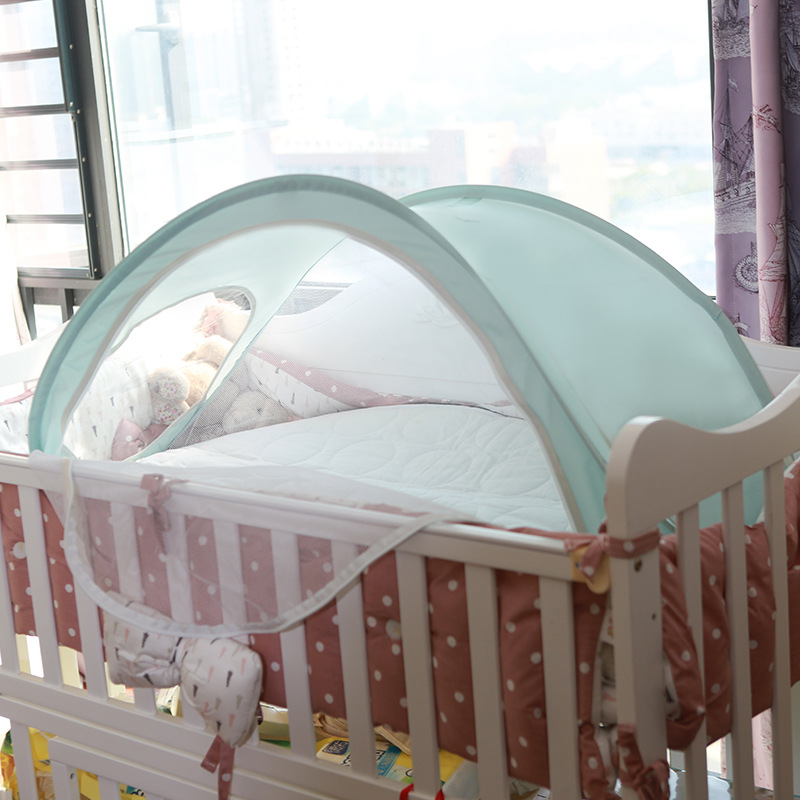 Protable Baby Crib Baby Bed With Mattress Set Portable Folding Crib Netting Baby Nest For Newborn Bedding Travel Sleep Mosquito