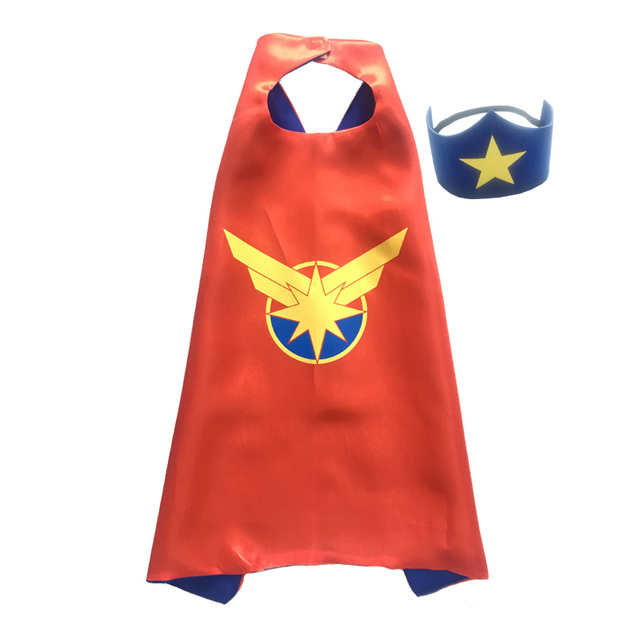 Superhero Capes with Masks for Kids Birthday Party Supplies Party Favor Halloween Costumes Dress Up Girls Boys Cosplay 1