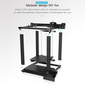 Image 4 - Creality Ender 5/Ender 5 Pro  3D Printer DIY Kit 220*220*300mm Build Volume with Upgrade Silent Motherboard PTFE Tubing Extruder