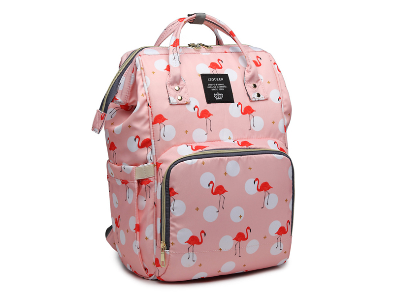 Hb86c7ec9166d42dda8af035dbf4999d44 Diaper Bag Backpack For Moms Waterproof Large Capacity Stroller Diaper Organizer Unicorn Maternity Bags Nappy Changing Baby Bag