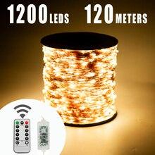 Светодиодная гирлянда, 120 м, 1200 светодиодов