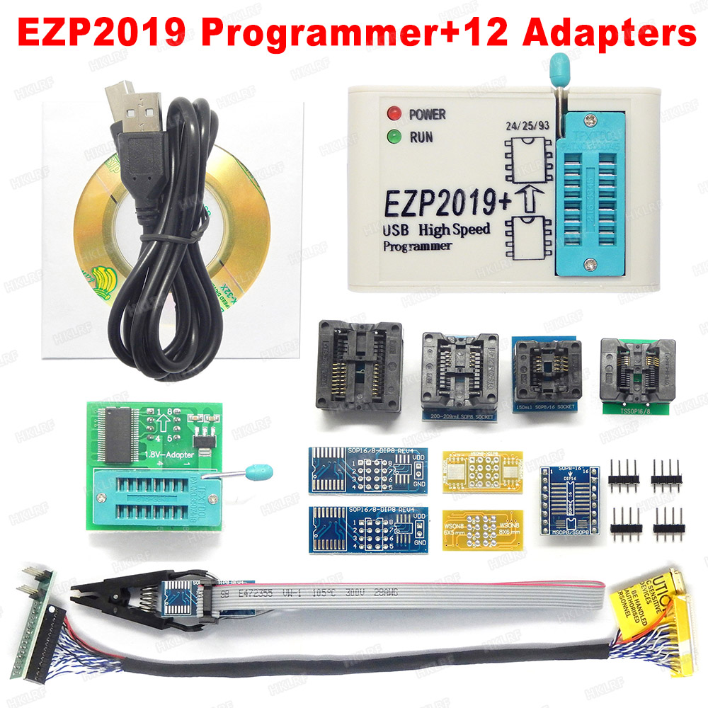 Programmer-Support24 Bios-Chip SPI EEPROM High-Speed 25-Flash 5-Socket New 25-93 USB