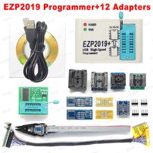 Cena fabryczna! Najnowsza wersja EZP2019 szybki programator USB SPI Support24 25 93 EEPROM 25 Flash BIOS Chip + 5 gniazdo tanie tanio Nowy Układy scalone logiczne EZP2010 EZP2013 EZP2019 Komputer International Standard Original New Support 24 25 93 EEPROM 25 Flash