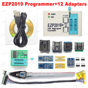 Factory Price! Newest Version EZP2019 High-speed USB SPI Programmer Support24 25 93 EEPROM 25 Flash BIOS Chip+5 Socket(China)