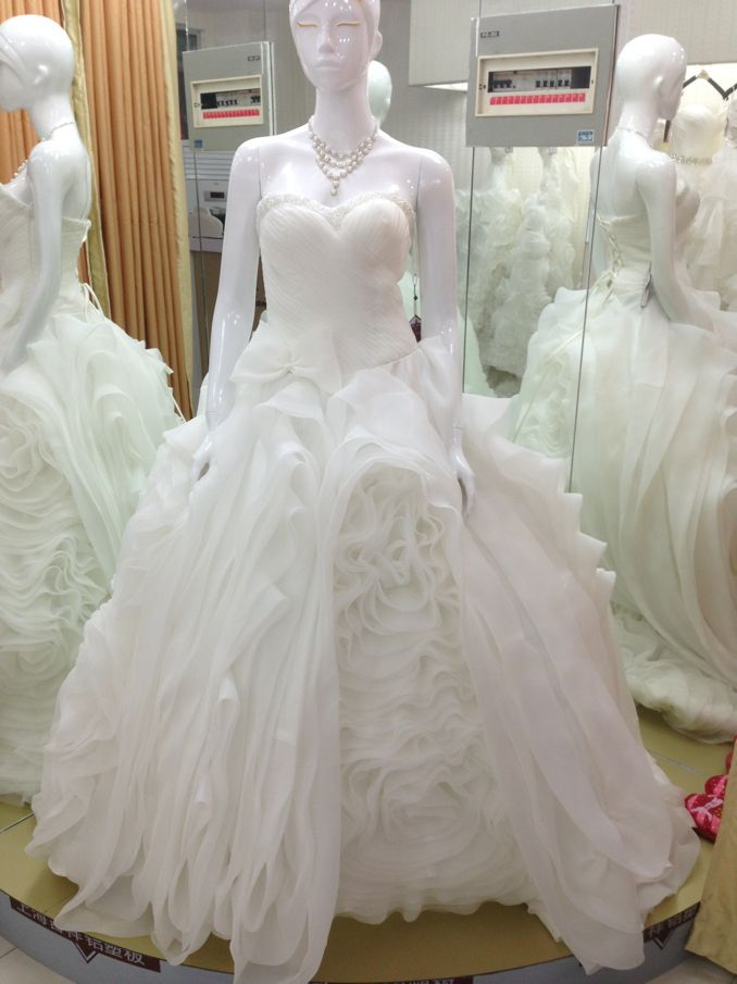 Casamento Bride Bridal Gown Bandage Dress Vestido De Noiva Renda 2016 New Fashionable Sweetheart Wedding Dress Free Shipping