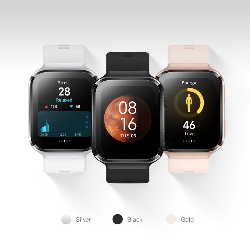 70mai Smart Watch 70mai Saphir Watch Bluetooth GPS Sport Heart Rate Monitor 5ATM Resistance Call Reminder 70mai Smartwatch APP 6