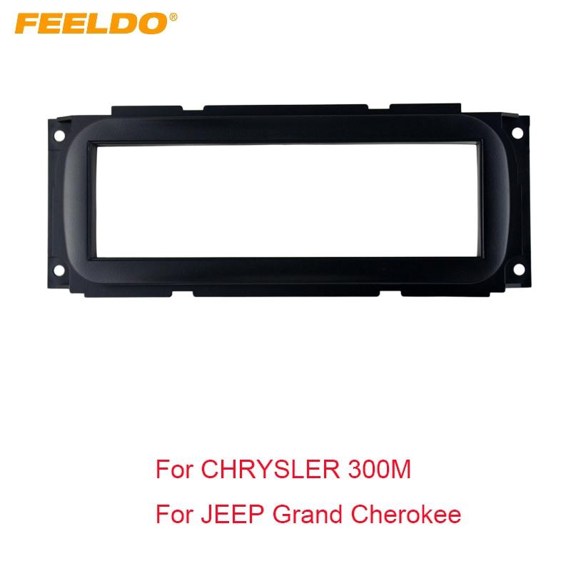 Cip Grand Cherokee / Chrysler / Dodge / Plymouth üçün FEELDO 1DIN Stereo Çərçivə Fascia Dash Panel Quraşdırma dəstləri