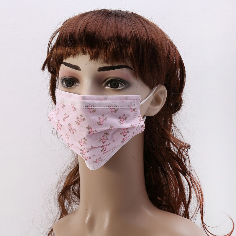 Disposable 10Pcs  Anti Dust Ear Loop Face Mouth Masks For Adult A69C