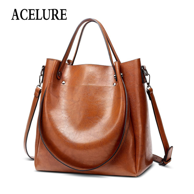 ACELURE Casual Bucket Handbag